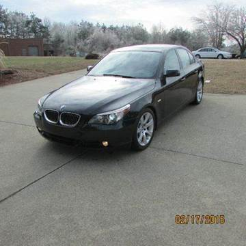 2007 BMW 5 Series for sale at German Auto World LLC in Alpharetta GA
