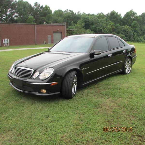 2003 Mercedes-Benz E-Class for sale at German Auto World LLC in Alpharetta GA