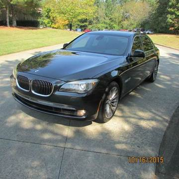 2011 BMW 7 Series for sale at German Auto World LLC in Alpharetta GA