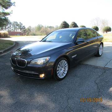 2009 BMW 7 Series for sale at German Auto World LLC in Alpharetta GA