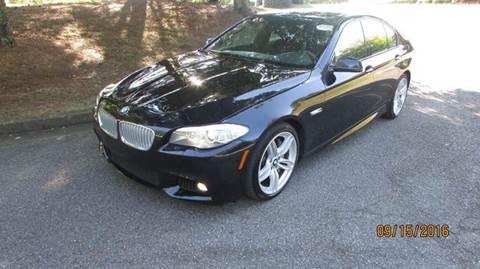 2013 BMW 5 Series for sale at German Auto World LLC in Alpharetta GA