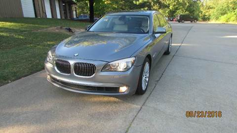 2012 BMW 7 Series for sale at German Auto World LLC in Alpharetta GA