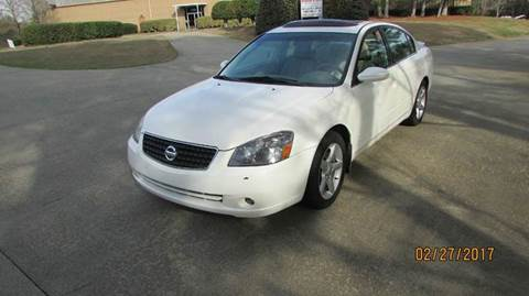 2006 Nissan Altima for sale at German Auto World LLC in Alpharetta GA