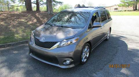2013 Toyota Sienna for sale at German Auto World LLC in Alpharetta GA