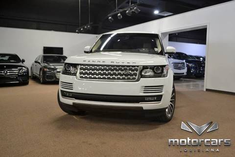 Range Rover Baton Rouge >> 2016 Land Rover Range Rover For Sale In Baton Rouge La