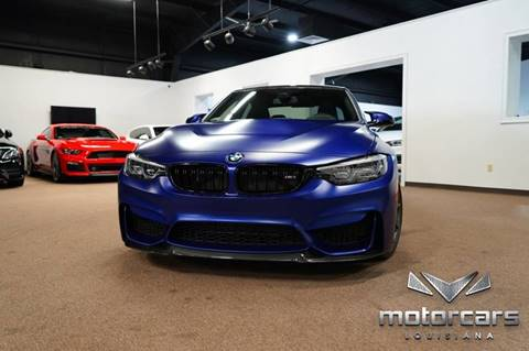2018 BMW M3 CS for sale at Motorcars Louisiana in Baton Rouge LA