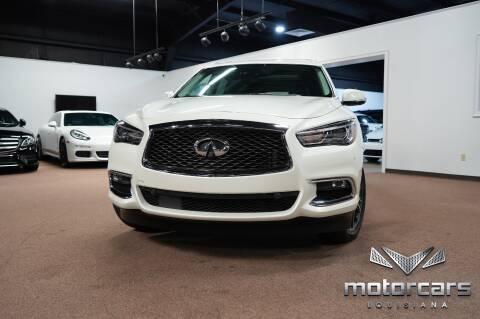 2017 Infiniti QX60 for sale at Motorcars Louisiana in Baton Rouge LA