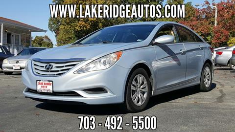 2011 Hyundai Sonata for sale at Lake Ridge Auto Sales in Woodbridge VA