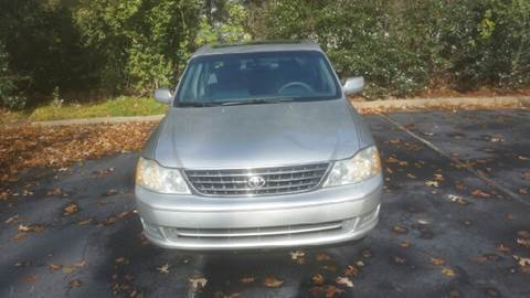 2004 Toyota Avalon for sale at Wheels To Go Auto Sales in Greenville SC