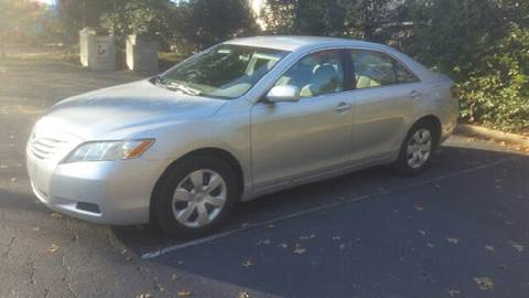 2007 Toyota Camry for sale at Wheels To Go Auto Sales in Greenville SC