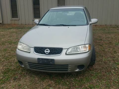 2003 Nissan Sentra for sale at Wheels To Go Auto Sales in Greenville SC