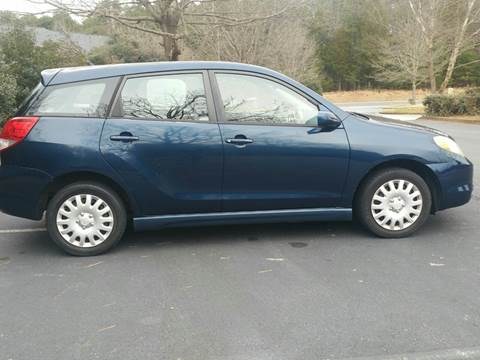 2004 Toyota Matrix for sale at Wheels To Go Auto Sales in Greenville SC
