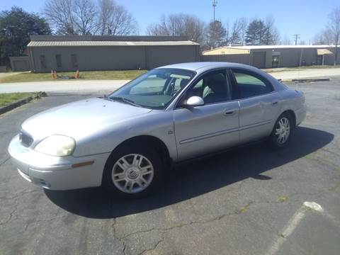 2004 Mercury Sable for sale at Wheels To Go Auto Sales in Greenville SC