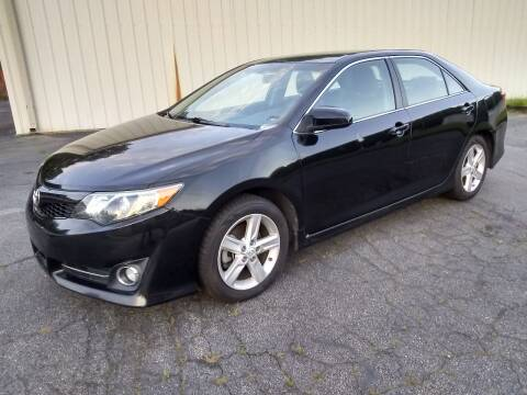 2014 Toyota Camry for sale at Wheels To Go Auto Sales in Greenville SC