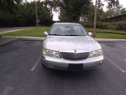 1999 Lincoln Continental for sale at Wheels To Go Auto Sales in Greenville SC