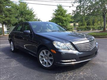 2013 Mercedes-Benz E-Class for sale in Alpharetta, GA