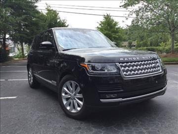 2017 Land Rover Range Rover for sale in Alpharetta, GA