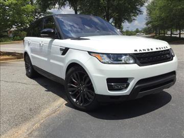 2017 Land Rover Range Rover Sport for sale in Alpharetta, GA
