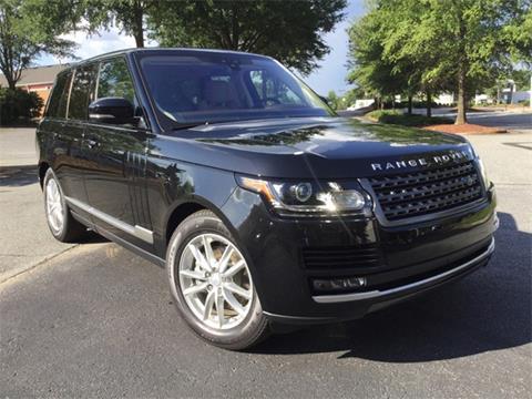 2017 Land Rover Range Rover for sale in Alpharetta GA