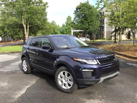 2017 Land Rover Range Rover Evoque for sale in Alpharetta, GA