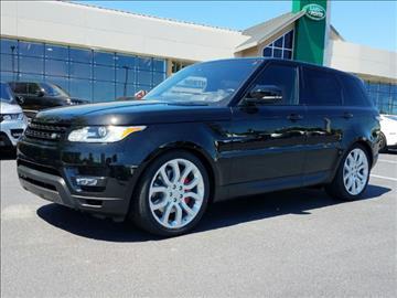 2017 Land Rover Range Rover Sport for sale in Alpharetta GA