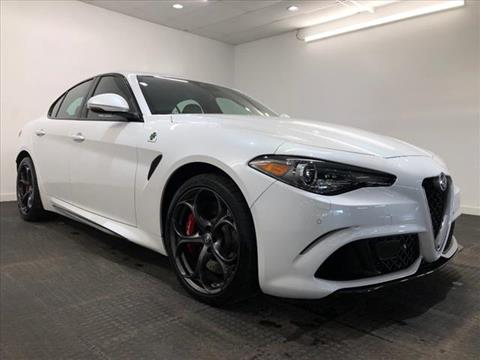 2018 Alfa Romeo Giulia Quadrifoglio for sale in Willimantic, CT