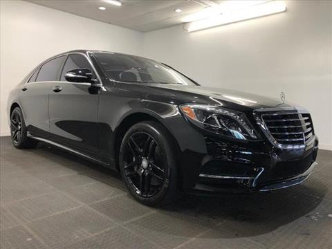 2015 Mercedes-Benz S-Class for sale in Willimantic, CT