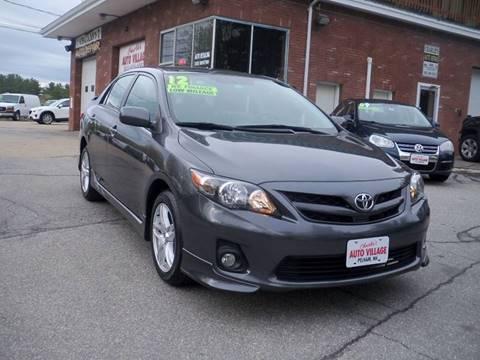 2012 Toyota Corolla for sale in Pelham, NH