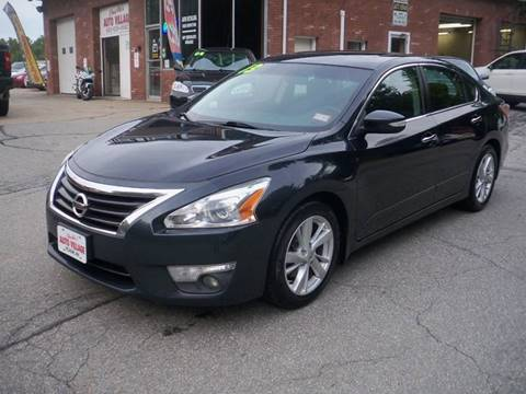 2013 Nissan Altima for sale in Pelham, NH
