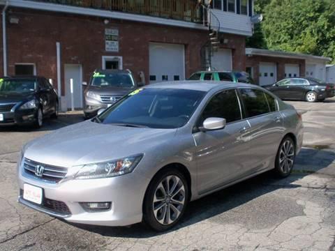 2015 Honda Accord for sale in Pelham, NH