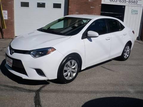 2016 Toyota Corolla for sale in Pelham, NH