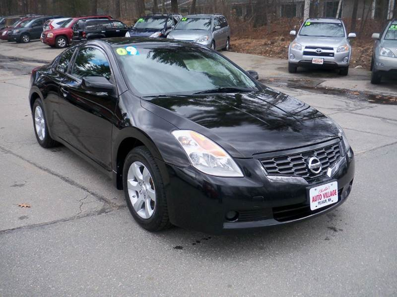 2009 Nissan Altima for sale at Charlies Auto Village in Pelham NH