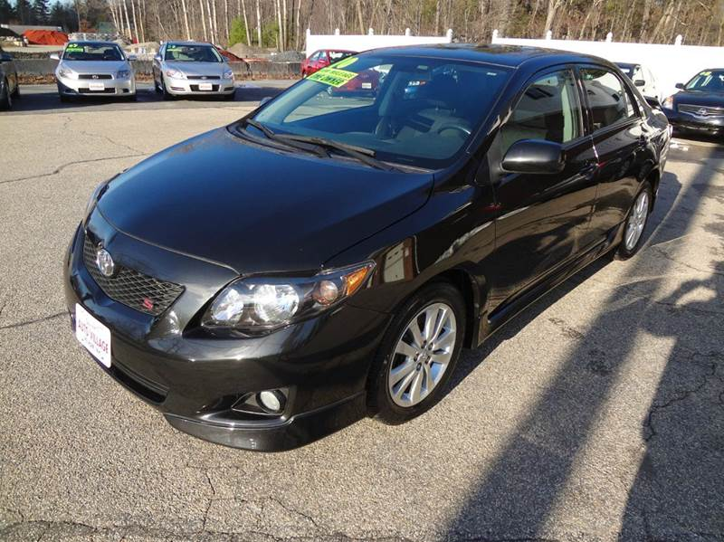2010 Toyota Corolla for sale at Charlies Auto Village in Pelham NH
