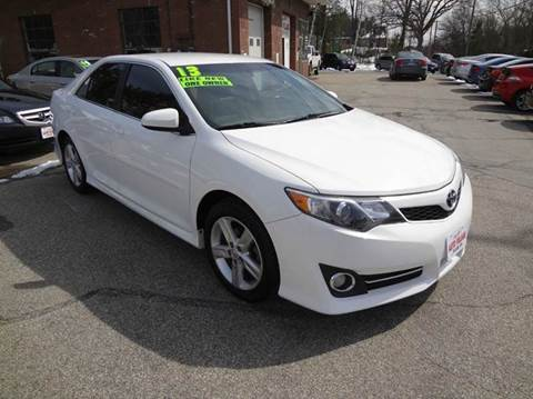 2013 Toyota Camry for sale at Charlies Auto Village in Pelham NH
