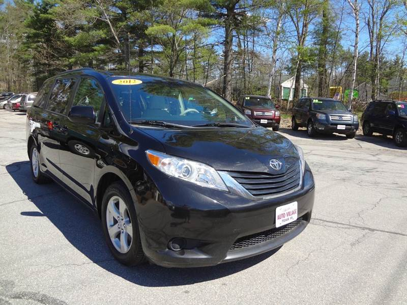 2012 Toyota Sienna for sale at Charlies Auto Village in Pelham NH