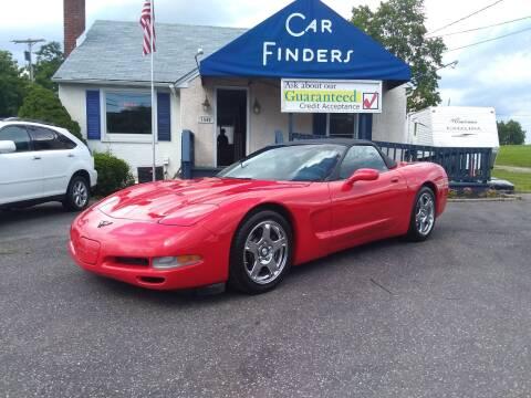 1998 Chevrolet Corvette for sale at CAR FINDERS OF MARYLAND LLC in Eldersburg MD