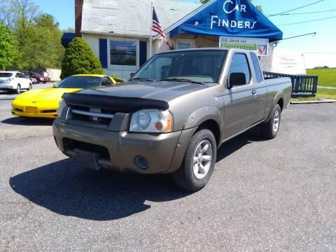 2001 Nissan Frontier for sale at CAR FINDERS OF MARYLAND LLC in Eldersburg MD