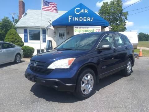 2009 Honda CR-V for sale at CAR FINDERS OF MARYLAND LLC in Eldersburg MD