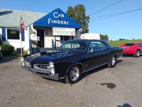 1966 Pontiac GTO for sale at CAR FINDERS OF MARYLAND LLC in Eldersburg MD