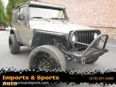 2004 Jeep Wrangler for sale in Alpharetta, GA