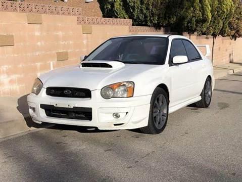 Subaru Wrx Sti For Sale >> 2004 Subaru Impreza For Sale In Tujunga Ca