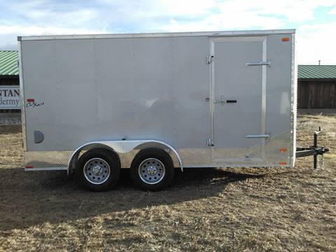2017 Pace American Outback 7 x 14 V-Nose Cargo for sale in Big Timber, MT