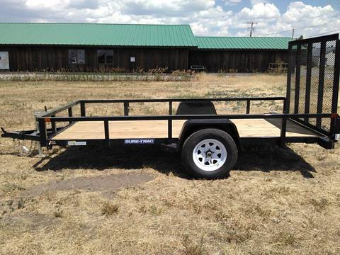 2017 Sure-Trac 6 x 12 Tube Top Utility for sale in Big Timber, MT