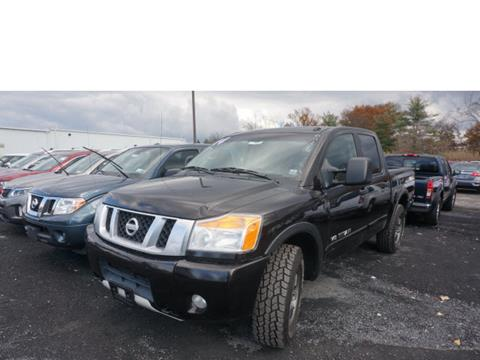 2014 Nissan Titan for sale in New Hampton, NY