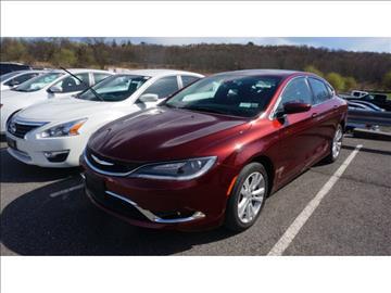 2015 Chrysler 200 for sale in New Hampton, NY