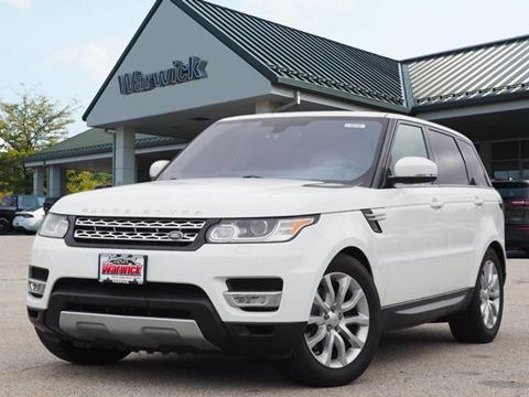 2016 Land Rover Range Rover Sport for sale in Warwick, NY
