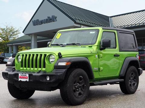 2018 Jeep Wrangler for sale in Warwick, NY