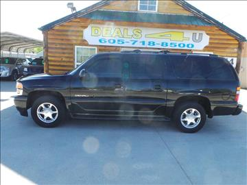 2001 GMC Yukon XL for sale at DEALS 4U in Rapid City SD