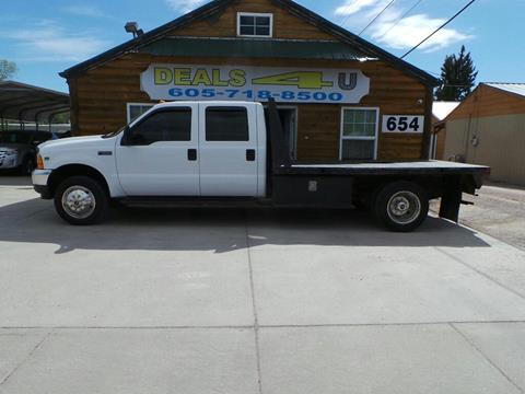 2001 Ford F-550 for sale at DEALS 4U in Rapid City SD