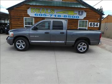 2006 Dodge Ram Pickup 1500 for sale at DEALS 4U in Rapid City SD
